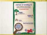 Scavenger Hunt Birthday Party Invitations Scavenger Hunt Invitation Scavenger Hunt Birthday Party