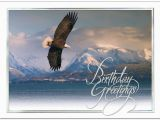 Scenic Birthday Cards soaring Eagle Birthday Card Scenic Birthday Cards