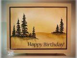 Scenic Birthday Cards softly Scenic Birthday Card Stamptv
