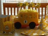School Bus Birthday Party Decorations 7under1designs School Bus themed Birthday Party