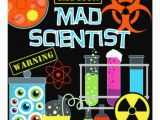 Scientist Birthday Card Science Cards Science Card Templates Invitations Photo