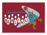 Scooby Doo Birthday Cards Scooby Doo Quot Bowling Quot 1 Card Zazzle