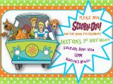 Scooby Doo Birthday Invites 1000 Images About Scooby Doo Party On Pinterest