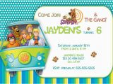 Scooby Doo Birthday Invites Free Printable Scooby Doo Birthday Party Invitations