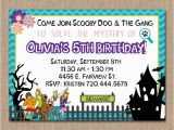 Scooby Doo Birthday Invites Scooby Doo Birthday Invitation Girl Birthday by