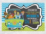 Scooby Doo Birthday Invites Scooby Doo Birthday Invitescooby Doo Inviteinvitebirthday