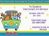 Scooby Doo Birthday Invites Scooby Doo Birthday Party Invitation Ideas New Party Ideas