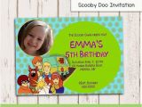 Scooby Doo Birthday Invites Scooby Doo Invitation Scooby Birthday Invitation Birthday