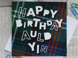 Scottish Birthday Cards Online 39 Happy Birthday Auld Yin 39 Scottish Birthday Card by Hiya