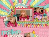 Scrapbook Ideas for Birthday Girl 260 Best Images About Scrapbook Birthday Layouts On