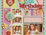 Scrapbook Ideas for Birthday Girl 262 Best Scrapbook Birthday Layouts Images On Pinterest