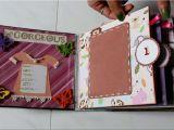 Scrapbook Ideas for Birthday Girl Baby Girl Birthday Scrapbook by Neet 39 S Creations Youtube