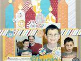 Scrapbook Ideas for Birthday Girl Birthday Layout Scrapbooking Pinterest Layouts