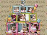 Scrapbook Ideas for Birthday Girl Scrapbook