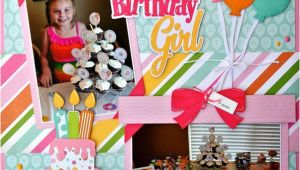 Scrapbook Ideas for Birthday Girl Svg Cutting Files Birthday Layouts