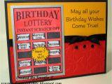 Scratch Off Birthday Card Ink N 39 Scrap Habits Birthday Lottery Ticket