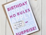 Scratch Off Birthday Card Scratch Off 39 Birthday Surprise 39 Card by Here 39 S to Us