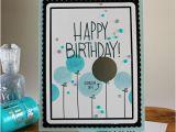 Scratch Off Birthday Card Simon Says Stamp September Card Kit Happy Birthday