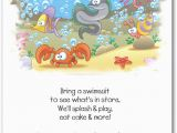 Sea Life Birthday Party Invitations Sea Life Party Invitations Under the Sea Birthday Party