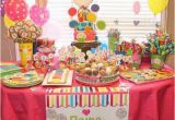 Second Birthday Girl themes This is My Little Girls Sweet Shop 1st Bday Rainas 1st