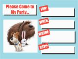 Secret Life Of Pets Birthday Party Invitations Musings Of An Average Mom the Secret Life Of Pets Invitation