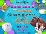 Secret Life Of Pets Birthday Party Invitations Secret Life Of Pets Birthday Invitations Kustom Kreations
