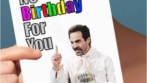 Seinfeld Happy Birthday Card Items Similar to Funny Birthday Card soup Nazi Seinfeld