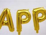 Self Inflating Happy Birthday Banner Card Factory 17 Quot Self Inflating Happy Birthday Banner Foil Balloon