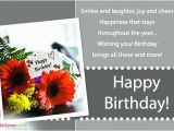 Send A Birthday Card by Mail Send Free Birthday Greetings Template Gbooks