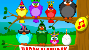 Send A Singing Birthday Card Singing Birds Birthday Send Free Ecards From 123cards Com