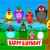 Send A Singing Birthday Card Singing Birds Birthday Send Free Ecards From 123cards Com
