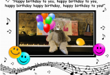 Send A Singing Birthday Card Singing Birthday Bear Free Smile Ecards Greeting Cards