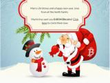 Send A Virtual Birthday Card Bitgreet Allows Sending Bitcoins with Christmas Cards