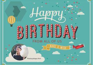 Send An Email Birthday Card New 10 Printable Cards Australia 2018