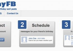 Send Birthday Cards Automatically Automatic Facebook Wishes With App