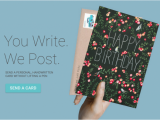 Send Birthday Cards by Post Send Greeting Cards In the Post Right From Your Pc Eftm