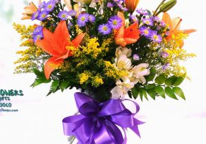 Send Birthday Flowers Same Day Same Day Delivery Birthday Bonanza Bouquet Fiesta