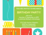 Send Birthday Invitations Online Colorful Childrens Party Free Birthday Invitation