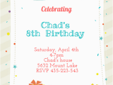 Send Birthday Invitations Online You are Invited Free Birthday Invitation Template