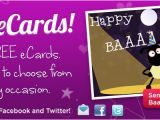 Send Electronic Birthday Card Ecards