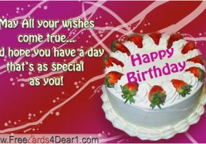 Send Free Birthday Card Facebook Images Of E Cards Greetings