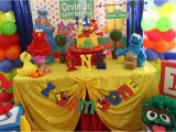 Sesame Street 1st Birthday Decorations southern Blue Celebrations Sesame Street Party Ideas