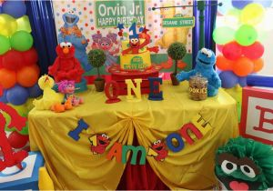 Sesame Street 1st Birthday Decorations Southern Blue Celebrations Party Ideas