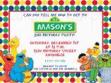 Sesame Street 1st Birthday Photo Invitations Sesame Street 1st Birthday Photo Invitations Lijicinu