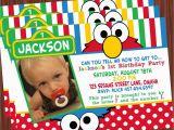 Sesame Street 1st Birthday Photo Invitations Sesame Street Party Printable Collection Mimi 39 S Dollhouse