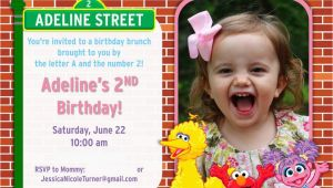 Sesame Street 2nd Birthday Invitations Sesame Street Birthday Party Ideas Games Food