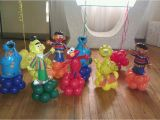 Sesame Street Birthday Decoration Ideas Sesame Street Balloon Decorations Party Favors Ideas