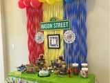 Sesame Street Birthday Decoration Ideas Sesame Street First Birthday Party Elmo Sesamestreet