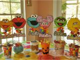 Sesame Street Birthday Decoration Ideas Sesame Street Party Birthday Party Ideas Photo 1 Of 24
