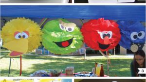 Sesame Street Birthday Decoration Ideas Sesame Street Party Decor Ideas Fun with Faces Chickabug